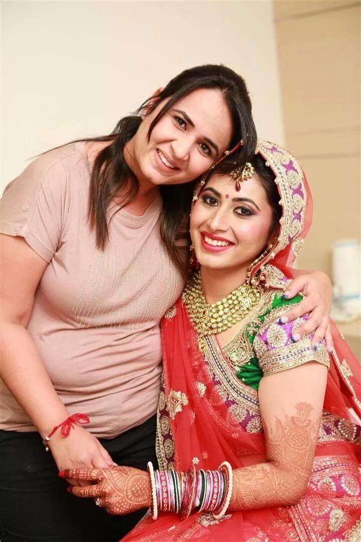 Alluring bridal glance by Supriti Batra Bridal-makeup   Weddings Photos & Ideas