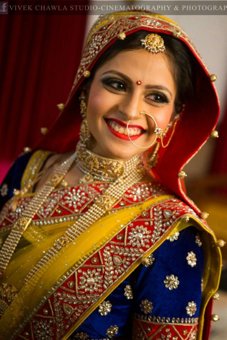 Blazing peer by Supriti Batra Bridal-makeup | Weddings Photos & Ideas