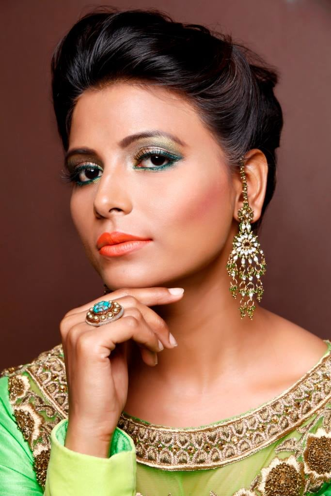 Beguile party gaze by Supriti Batra Bridal-makeup | Weddings Photos & Ideas