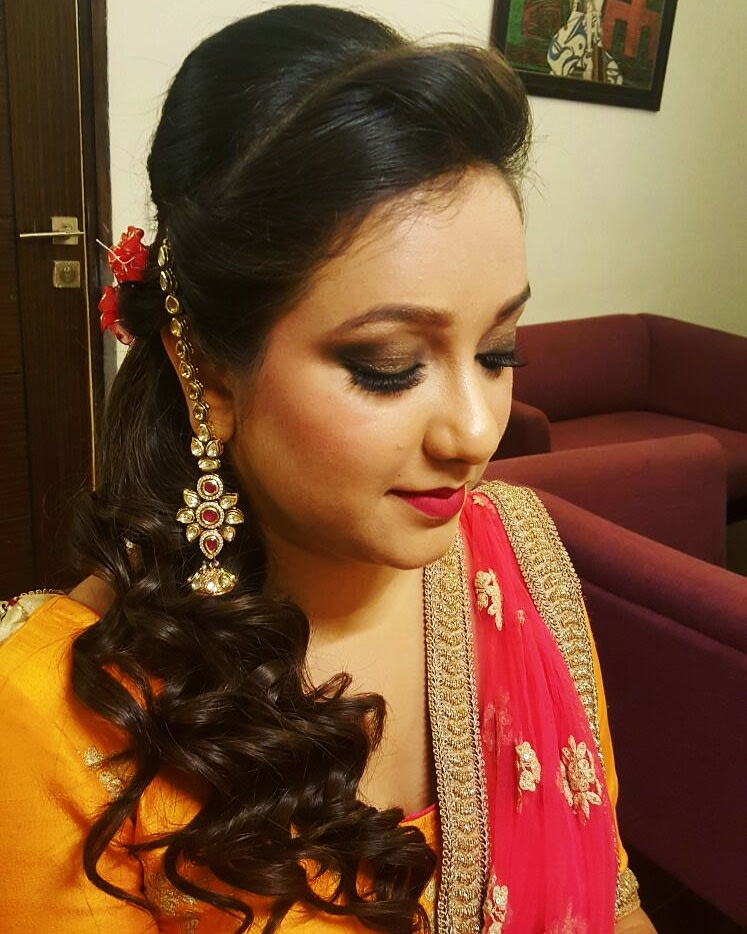 Bewitching look by Supriti Batra Bridal-makeup | Weddings Photos & Ideas