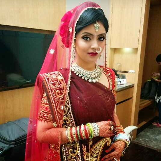 Indian Bride Wearing Heavy Silver Jewellery by Anchal Kumar Bridal-jewellery-and-accessories | Weddings Photos & Ideas