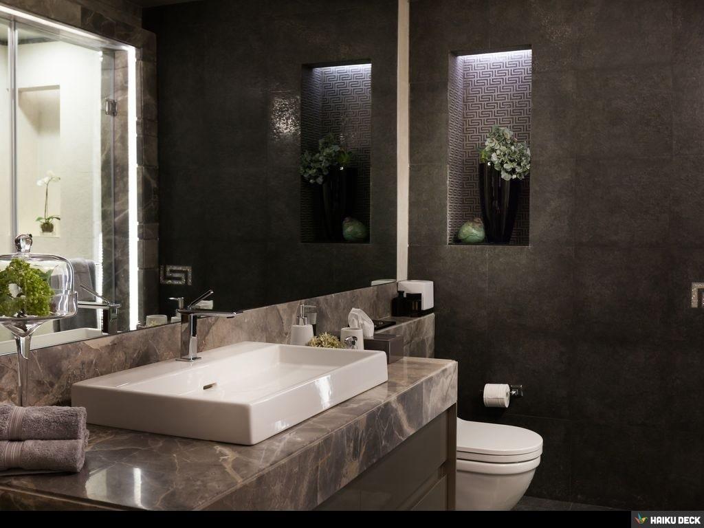 Bathroom With Marble Top Cabinet by Vijay Kapur Bathroom Modern   Interior Design Photos & Ideas