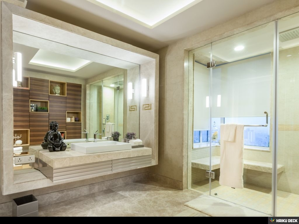 Bathroom With Modern Touch by Vijay Kapur Modern | Interior Design Photos & Ideas