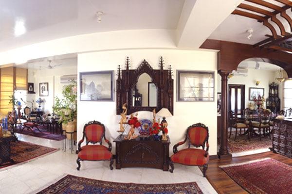 Modern Traditional Hallway by Vijay Kapur Designs Living-room Contemporary   Interior Design Photos & Ideas