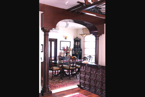 Traditional Dining Room by Vijay Kapur Designs Dining-room Contemporary | Interior Design Photos & Ideas