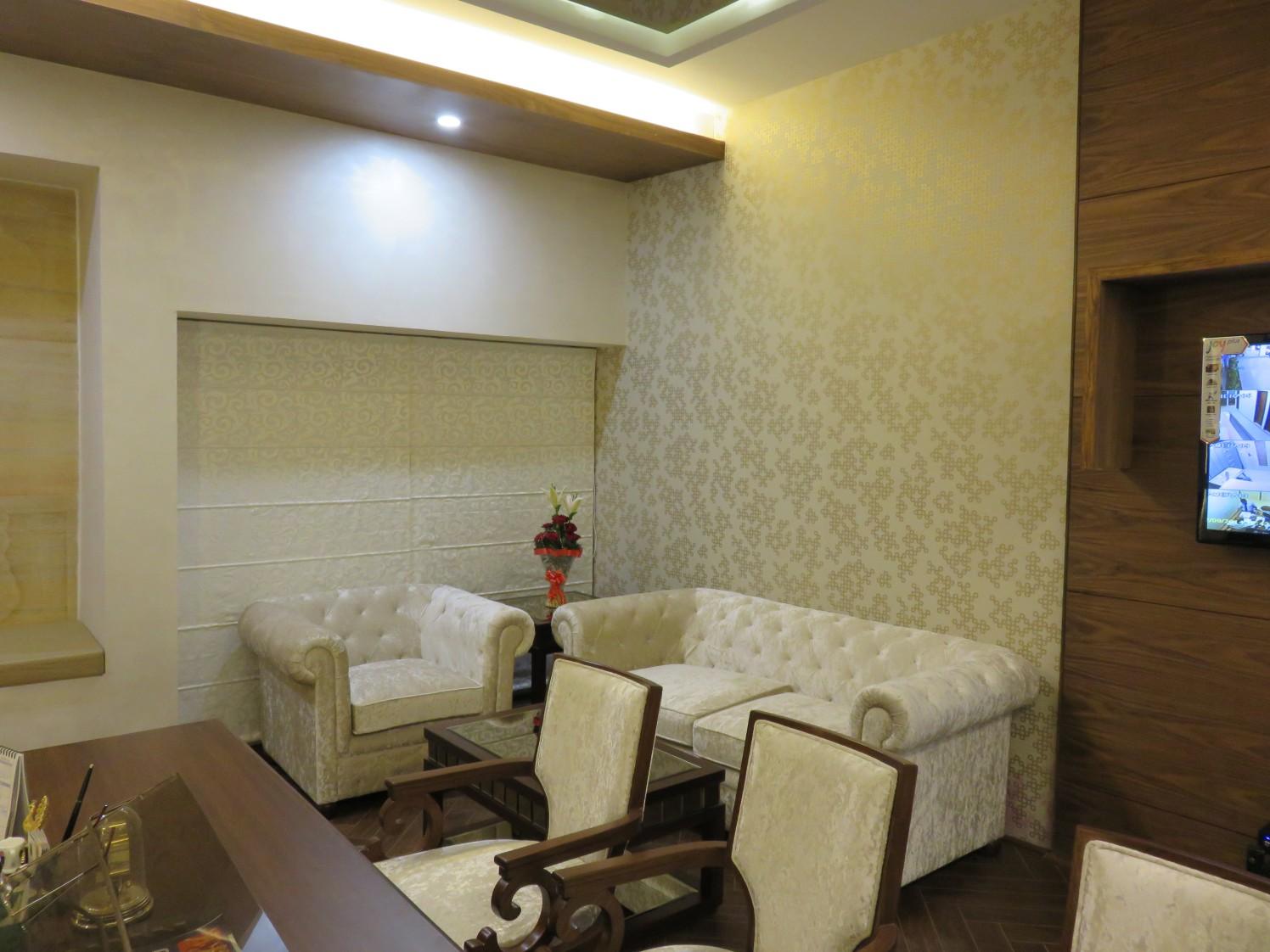 Minimalist Office Cabin by Vijay Kapur Designs Contemporary   Interior Design Photos & Ideas