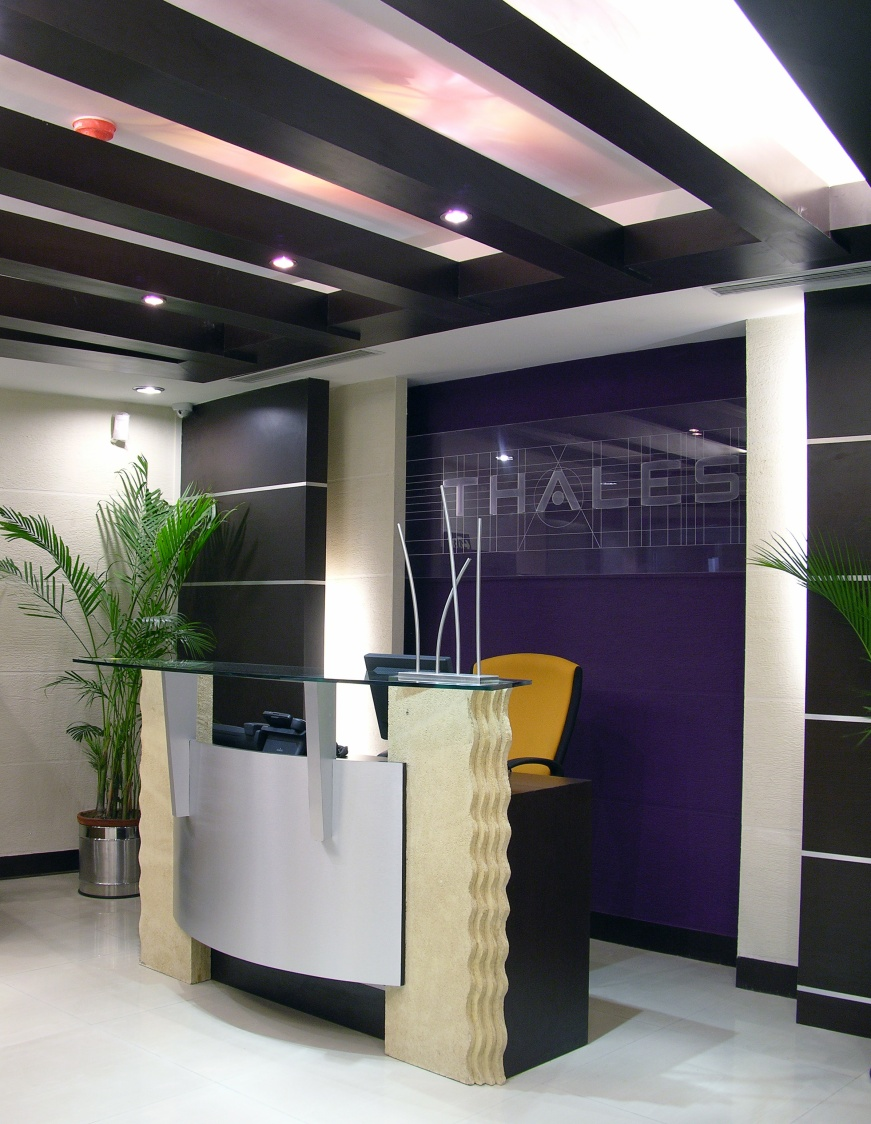 Modern Office Reception by Vijay Kapur Designs Contemporary | Interior Design Photos & Ideas