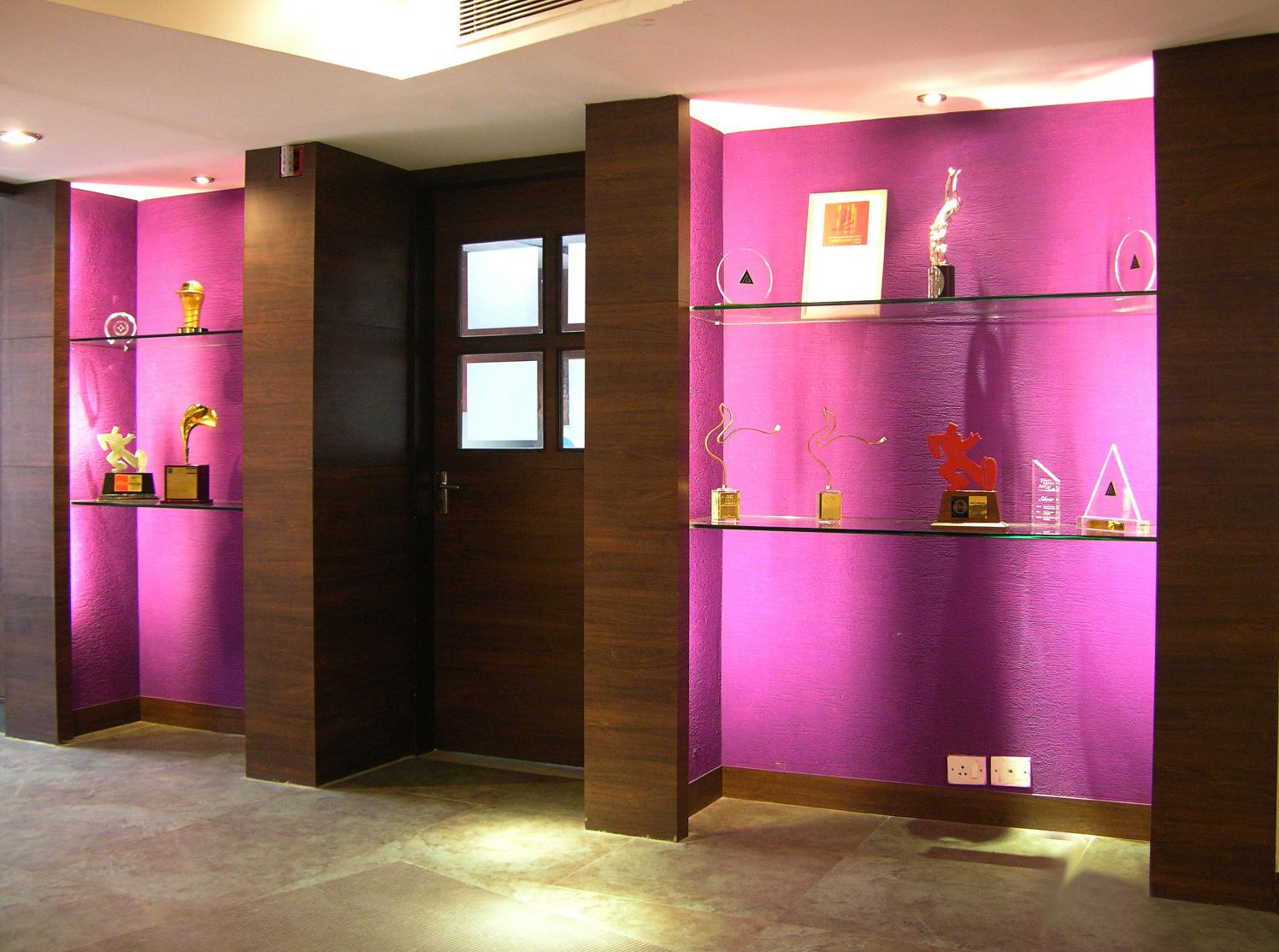 Office Reception Area by Vijay Kapur Designs Modern | Interior Design Photos & Ideas