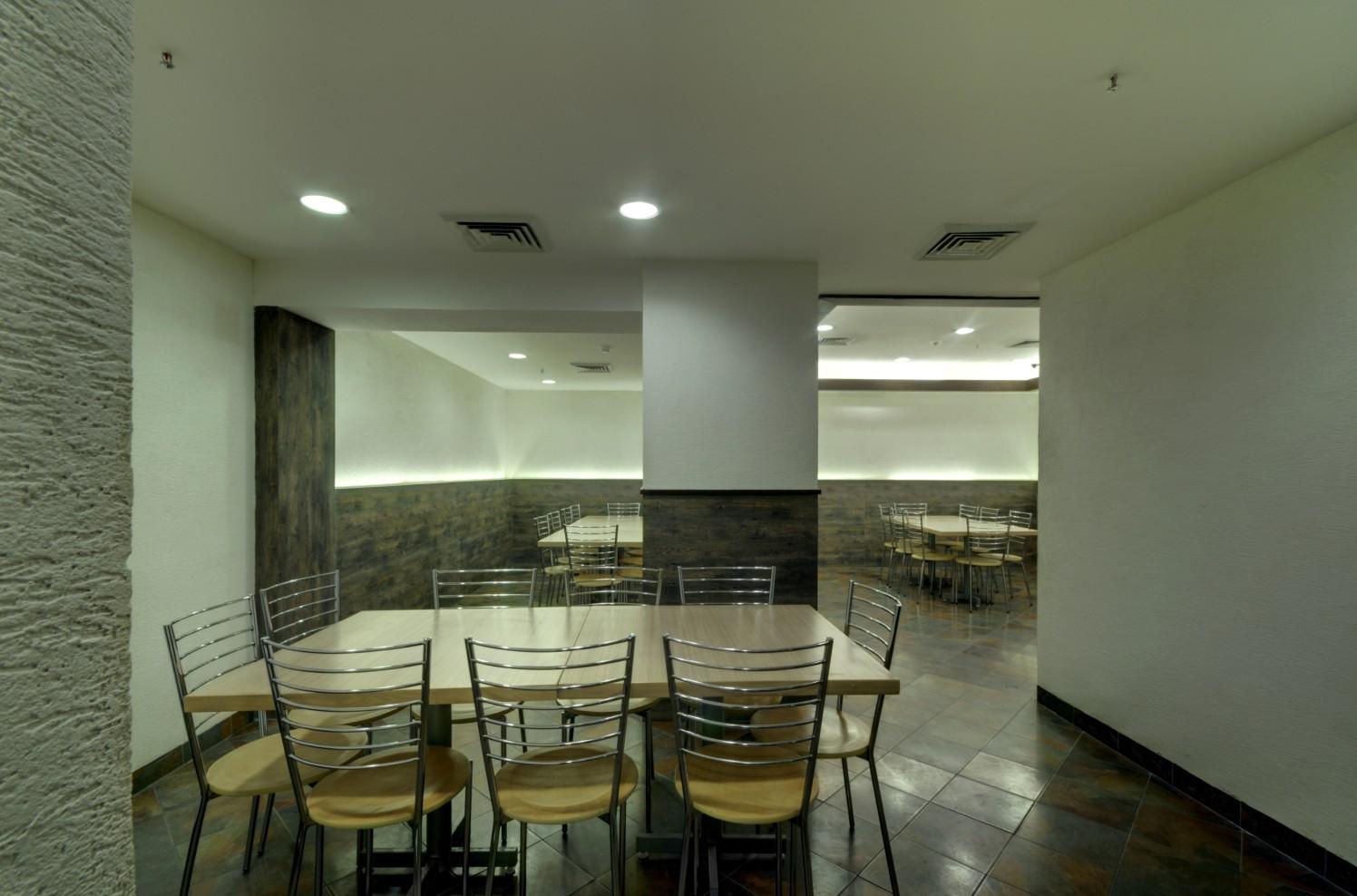 Contemporary Office Cafeteria by Vijay Kapur Designs Modern   Interior Design Photos & Ideas