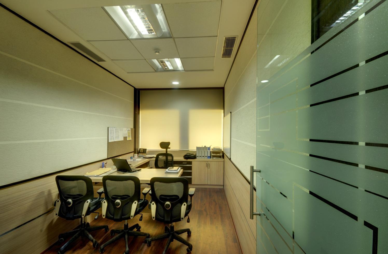 Formal Modern Office by Vijay Kapur Designs Modern | Interior Design Photos & Ideas