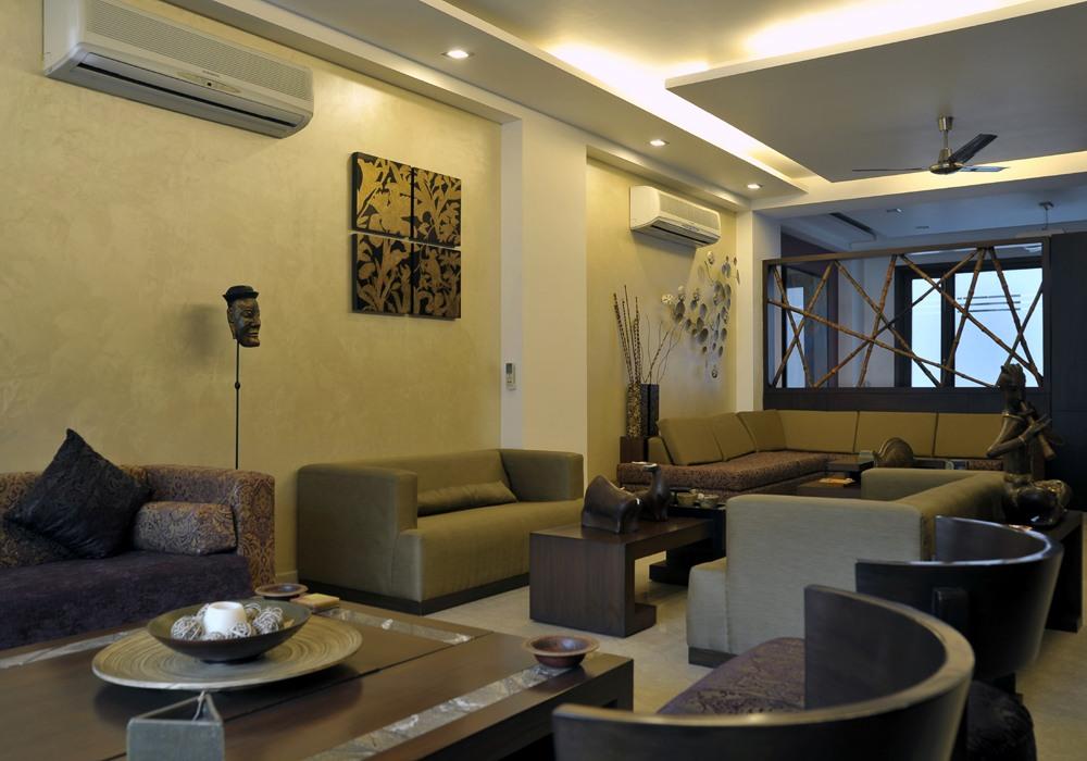 Contemporary Living Room by Vijay Kapur Living-room Contemporary | Interior Design Photos & Ideas