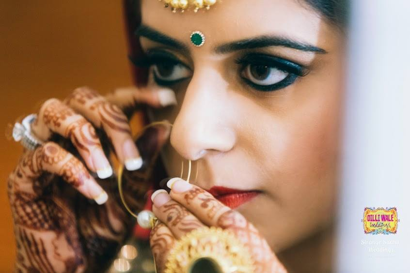 Kajal and eye liner on point by Shruti Sharma Wedding-photography | Weddings Photos & Ideas