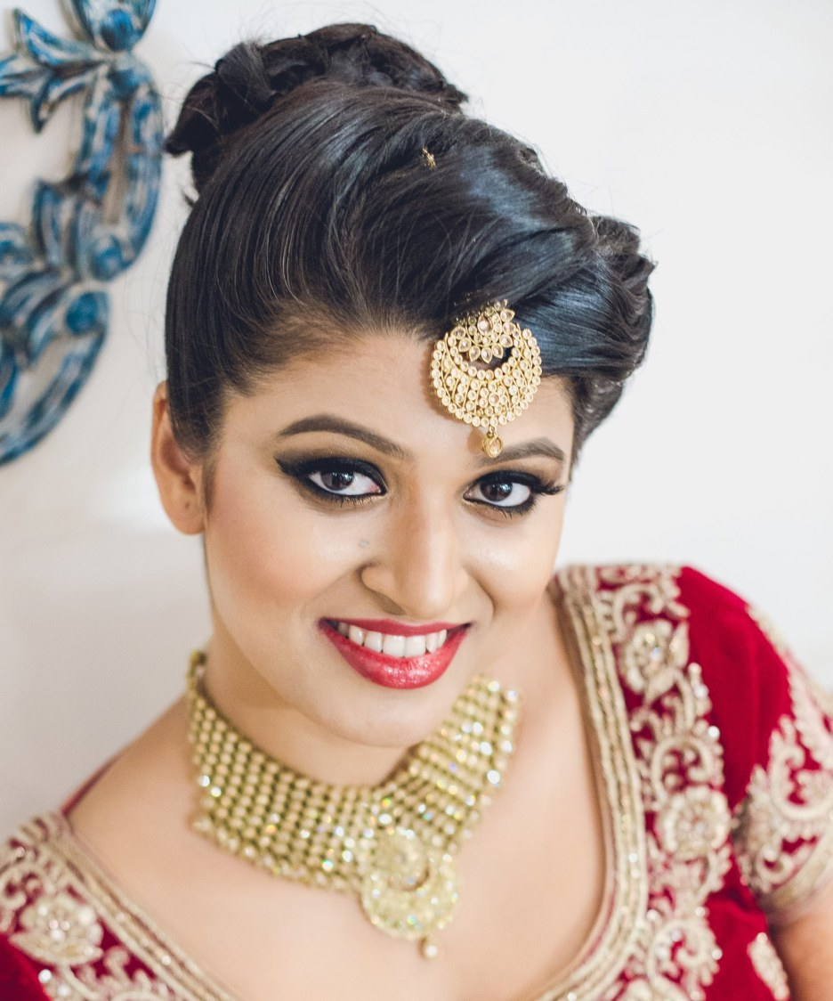 Smoky winged eyes by Shruti Sharma Bridal-makeup | Weddings Photos & Ideas