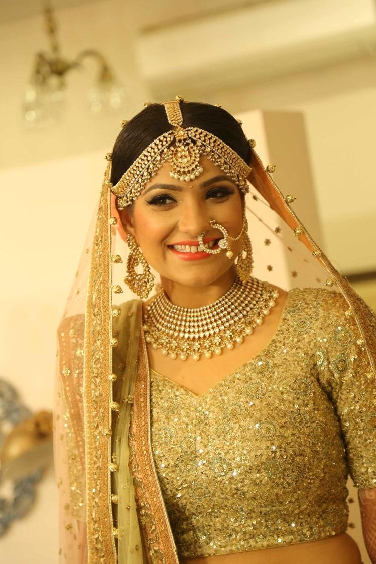 Bronzed look by Shruti Sharma Bridal-makeup | Weddings Photos & Ideas