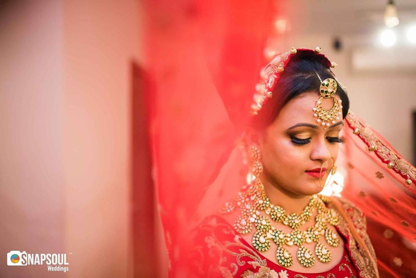 Pearl shaped necklaces by Shruti Sharma Bridal-makeup | Weddings Photos & Ideas