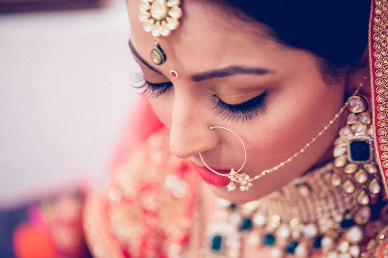 Minimal makeup by Shruti Sharma Bridal-makeup | Weddings Photos & Ideas