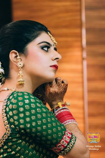 Tinged with pink by Shruti Sharma Bridal-makeup | Weddings Photos & Ideas
