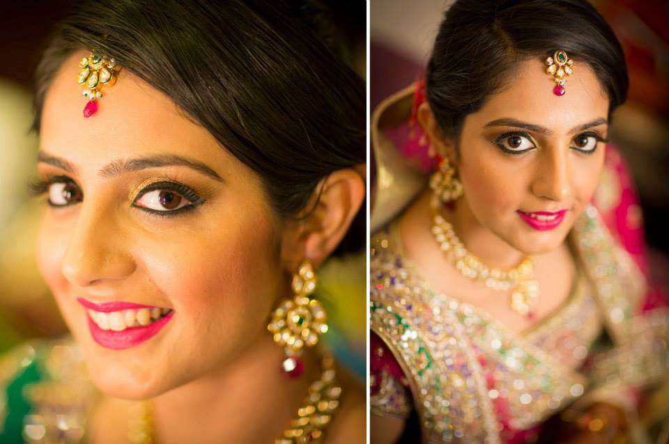 Striking eyes by Shruti Sharma Bridal-makeup | Weddings Photos & Ideas