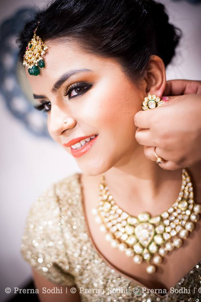 Natural look by Shruti Sharma Bridal-makeup | Weddings Photos & Ideas