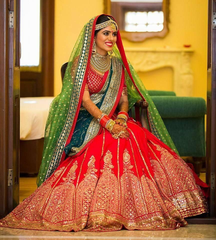 Glamorous bride by Shruti Sharma Bridal-makeup | Weddings Photos & Ideas