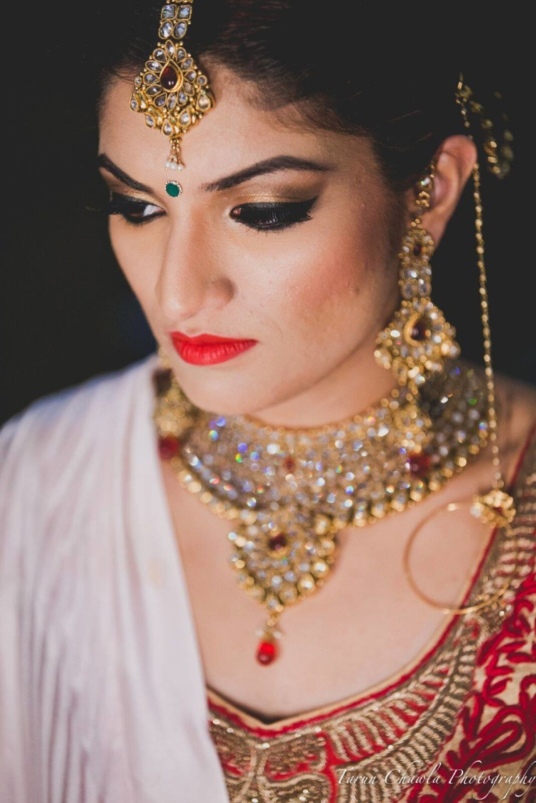 Elegance at its best by Shruti Sharma Bridal-makeup | Weddings Photos & Ideas