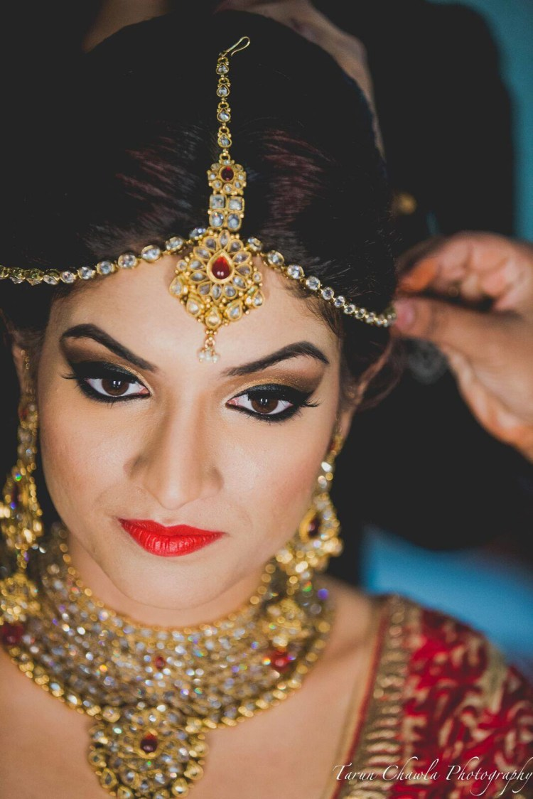Flawless makeup by Shruti Sharma Bridal-makeup | Weddings Photos & Ideas