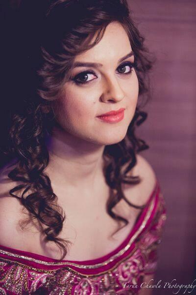 Because curls can never go wrong! by Shruti Sharma Bridal-makeup | Weddings Photos & Ideas