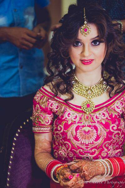 Blush pink by Shruti Sharma Bridal-makeup | Weddings Photos & Ideas