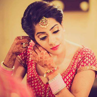 Beauty in Red by Shruti Sharma Bridal-makeup | Weddings Photos & Ideas