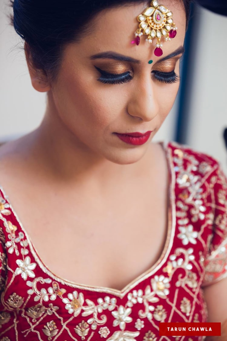 Bronze look by Shruti Sharma Bridal-makeup | Weddings Photos & Ideas