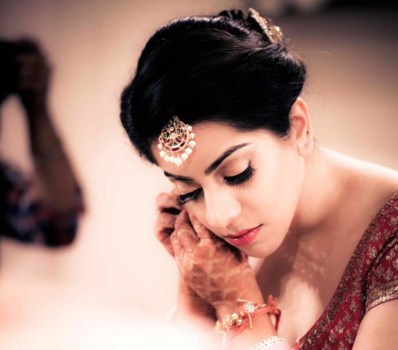 Natural brightness by Shruti Sharma Bridal-makeup | Weddings Photos & Ideas