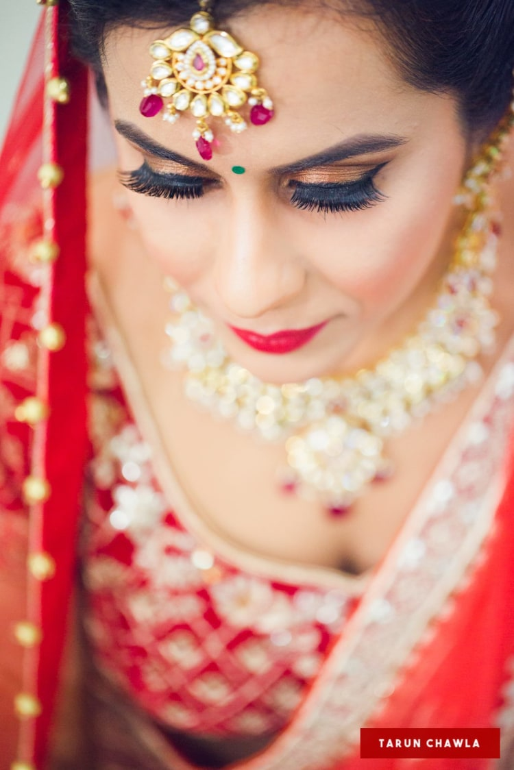 Bold and bright by Shruti Sharma Bridal-makeup | Weddings Photos & Ideas