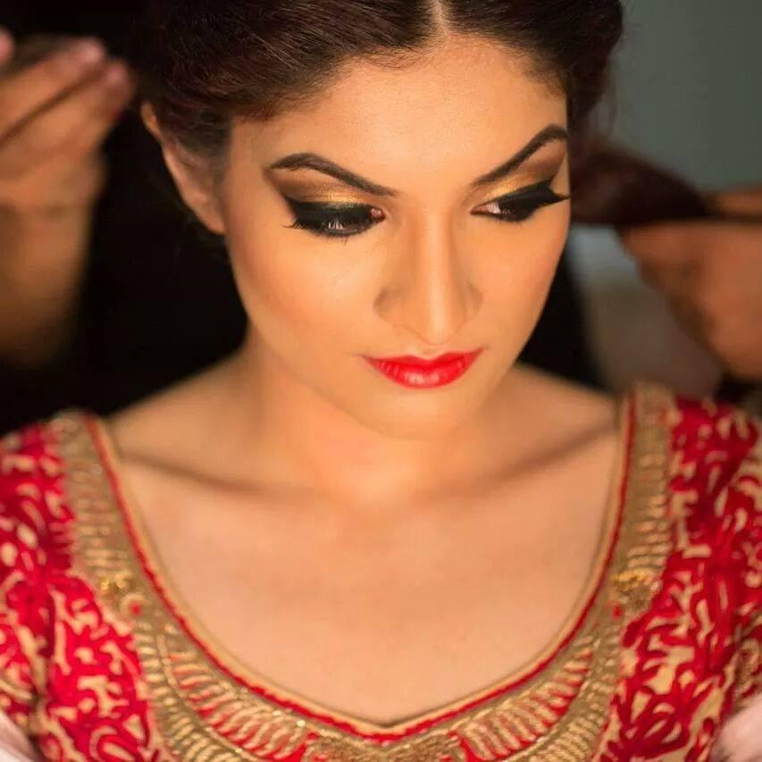Golden glow by Shruti Sharma Bridal-makeup | Weddings Photos & Ideas