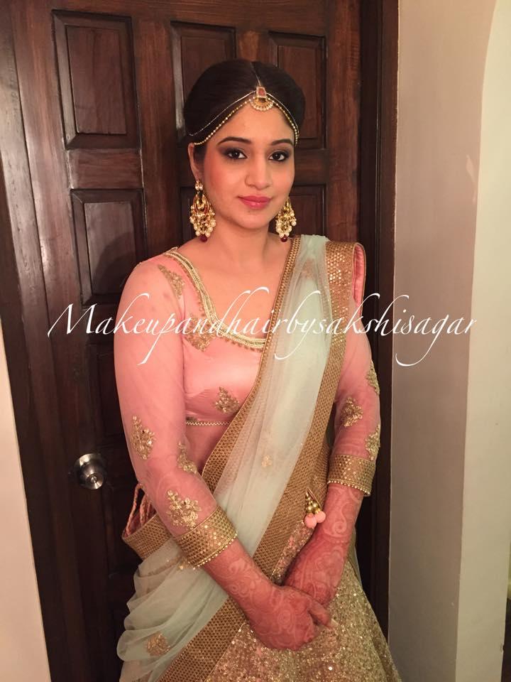 The dignified beauty by Sakshi Sagar Bridal-makeup | Weddings Photos & Ideas