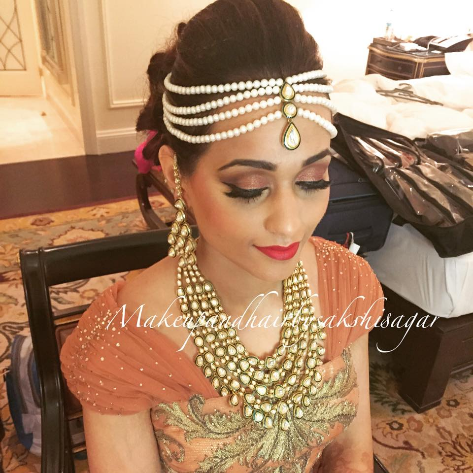 Bold makeup look by Sakshi Sagar Bridal-makeup | Weddings Photos & Ideas