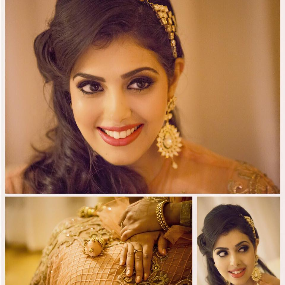 The mesmerizing beauty by Sakshi Sagar Bridal-makeup | Weddings Photos & Ideas
