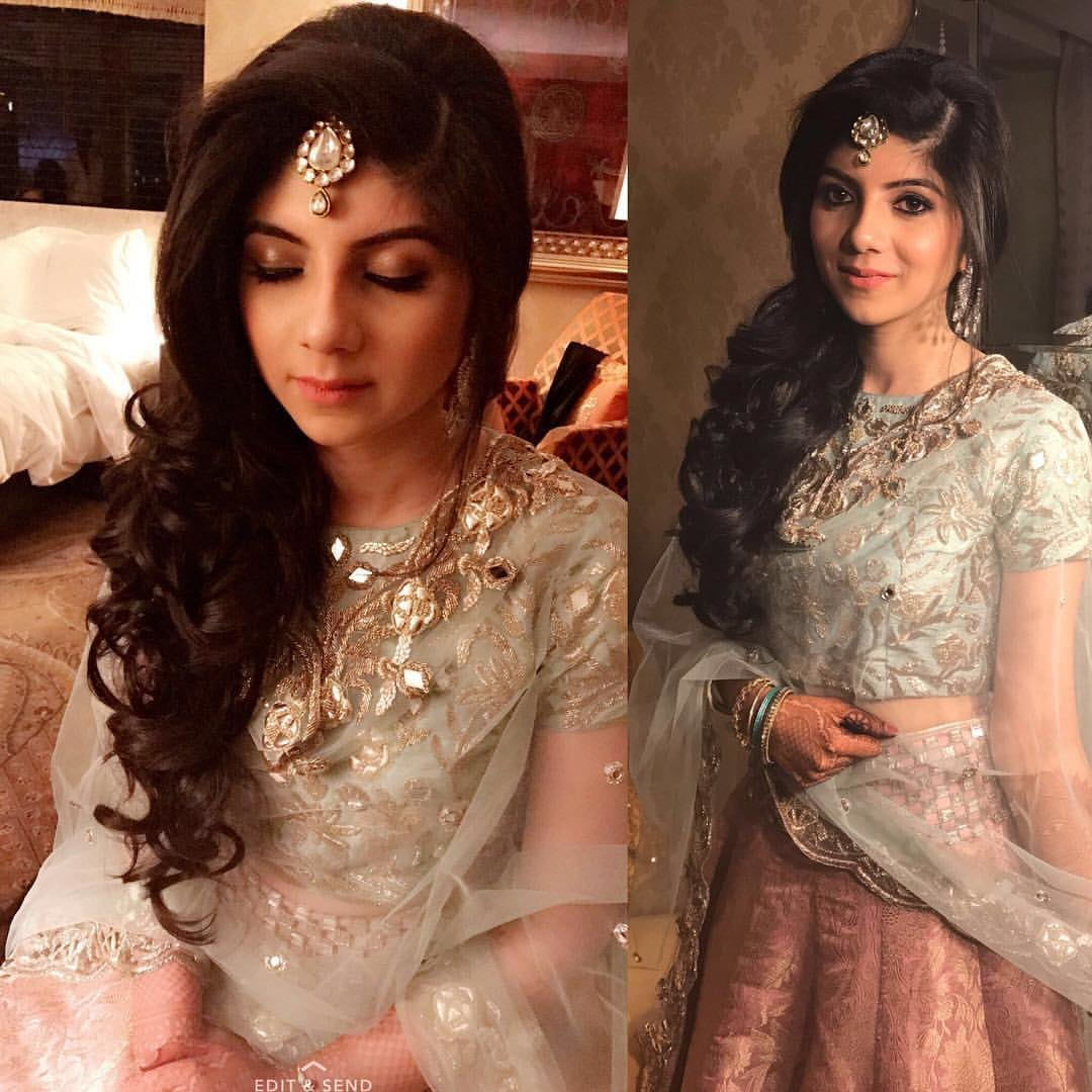 She couldn't have looked any prettier! by Sakshi Sagar Bridal-makeup | Weddings Photos & Ideas