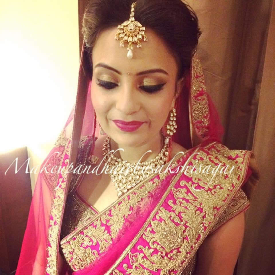 Keeping it simple and sassy by Sakshi Sagar Bridal-makeup | Weddings Photos & Ideas