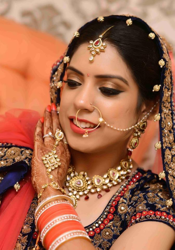 Happiest brides are the prettiest by Sakshi Sagar Bridal-makeup | Weddings Photos & Ideas