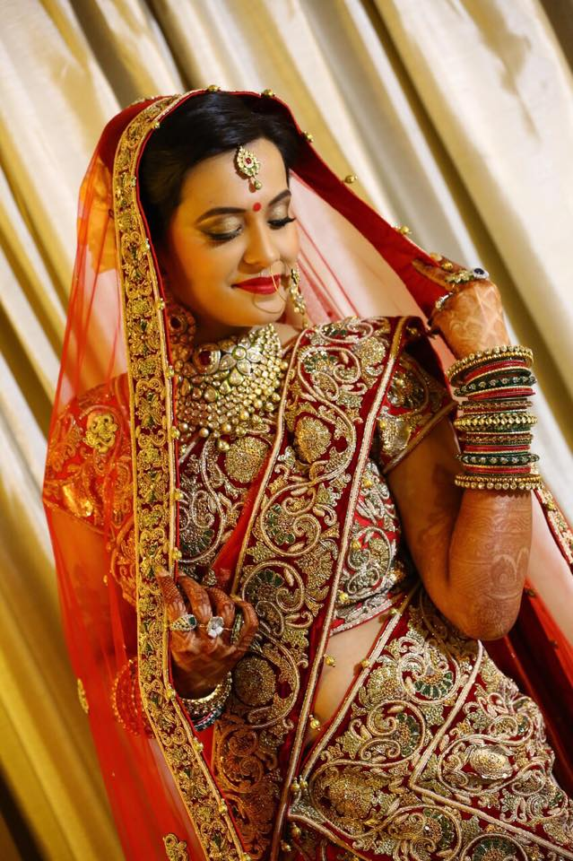 Bold Bridal Look by Sakshi Sagar Bridal-makeup | Weddings Photos & Ideas