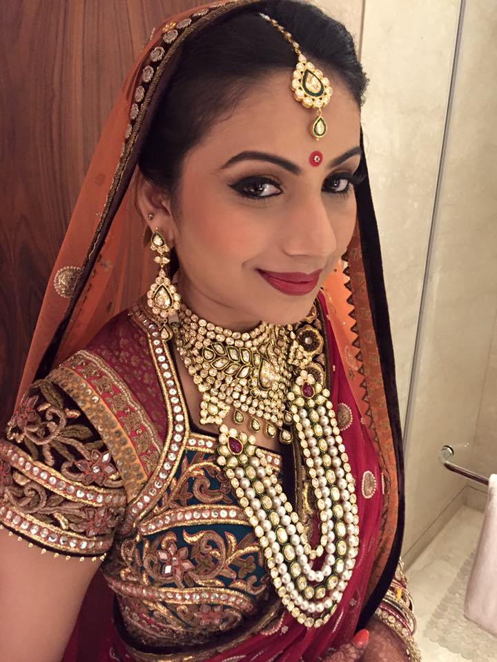 Natural look of bride by Sakshi Sagar Bridal-makeup | Weddings Photos & Ideas