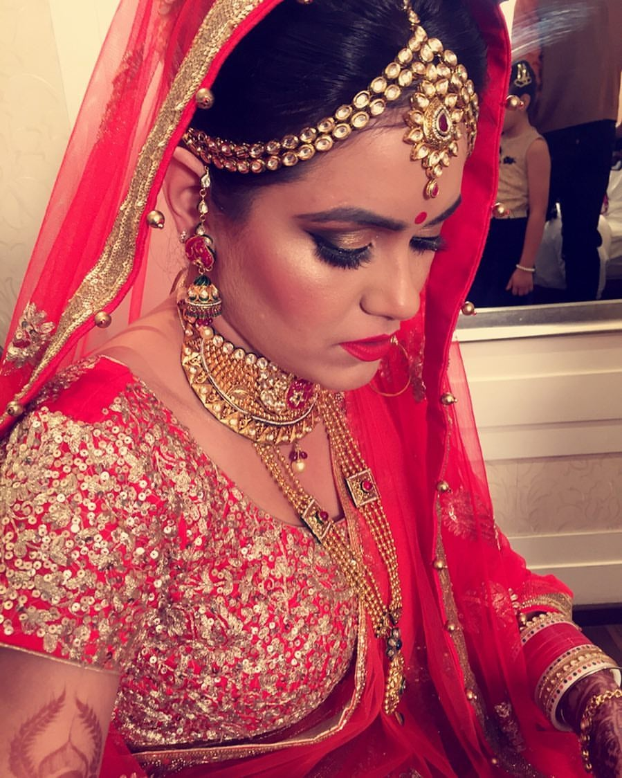 Bronzed up! by Sakshi Sagar Bridal-makeup | Weddings Photos & Ideas
