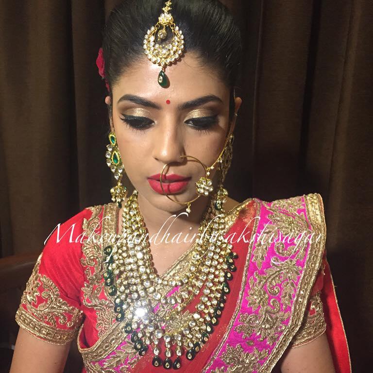 Kundan jewelry completing the Bridal look by Sakshi Sagar Bridal-makeup | Weddings Photos & Ideas