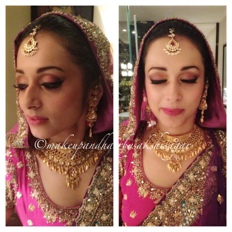Bridal look by Sakshi Sagar Bridal-makeup | Weddings Photos & Ideas