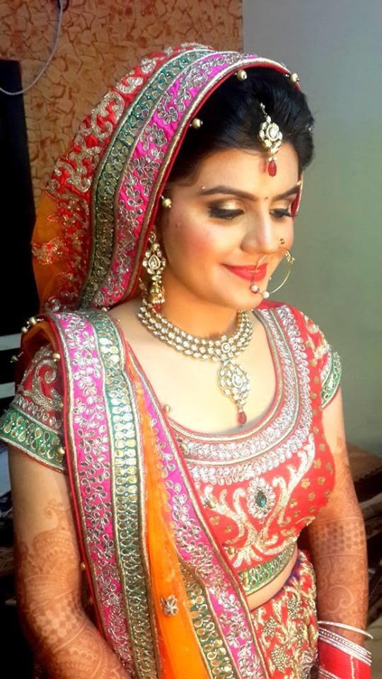 Multicolour attire for the day by Shikha K Chandra Wedding-photography | Weddings Photos & Ideas