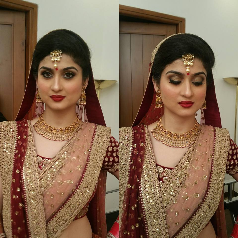Perfect eye look by Shikha K Chandra Bridal-makeup | Weddings Photos & Ideas