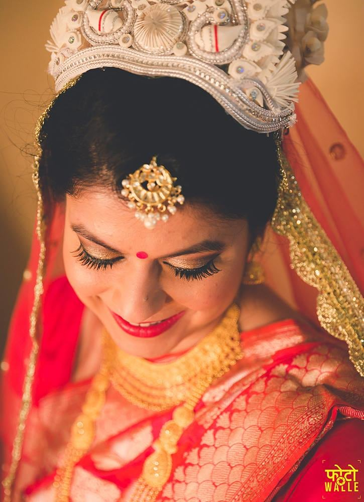 Bengali grace by Shikha K Chandra Bridal-makeup | Weddings Photos & Ideas