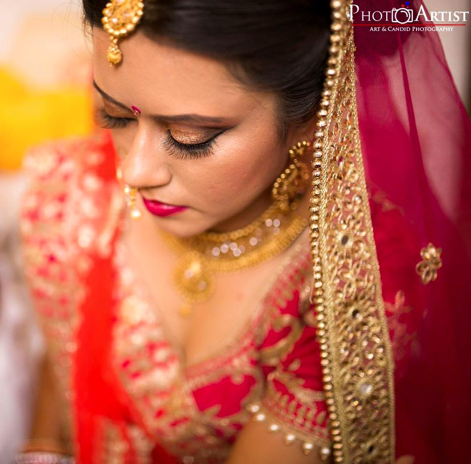 Eyelash on fleek by Shikha K Chandra Bridal-makeup | Weddings Photos & Ideas