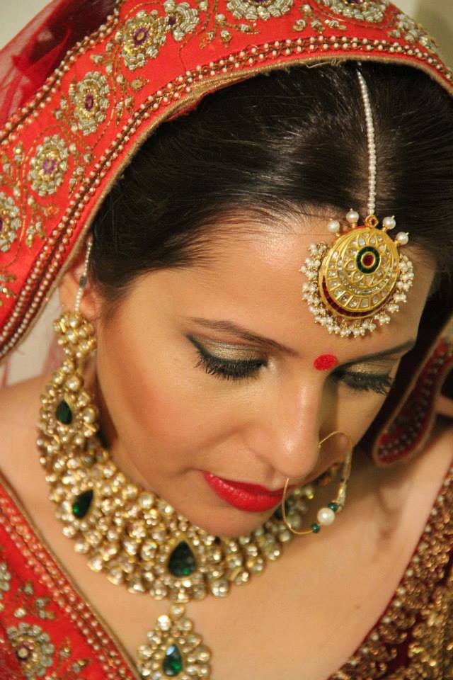 Luminous looks by Shikha K Chandra Bridal-makeup | Weddings Photos & Ideas