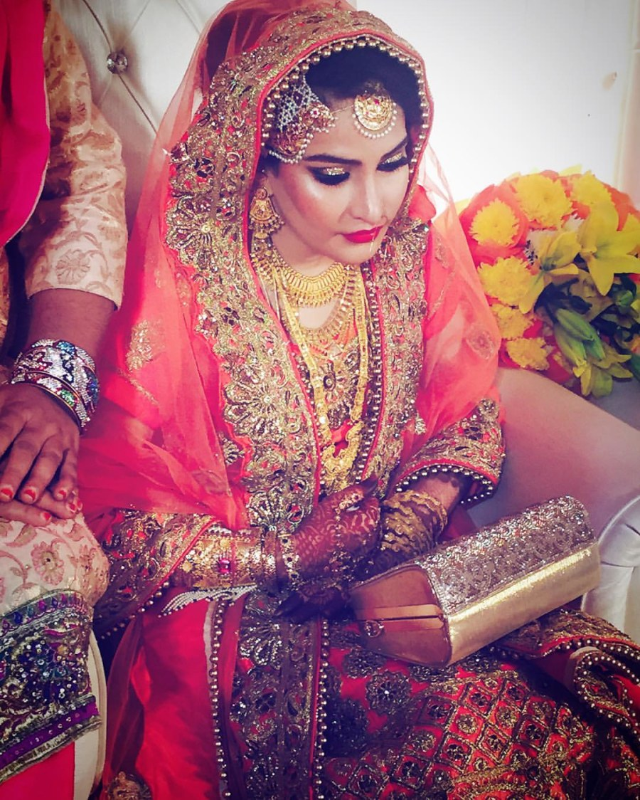 Picture perfect bride by Farida Khan Bridal-makeup | Weddings Photos & Ideas